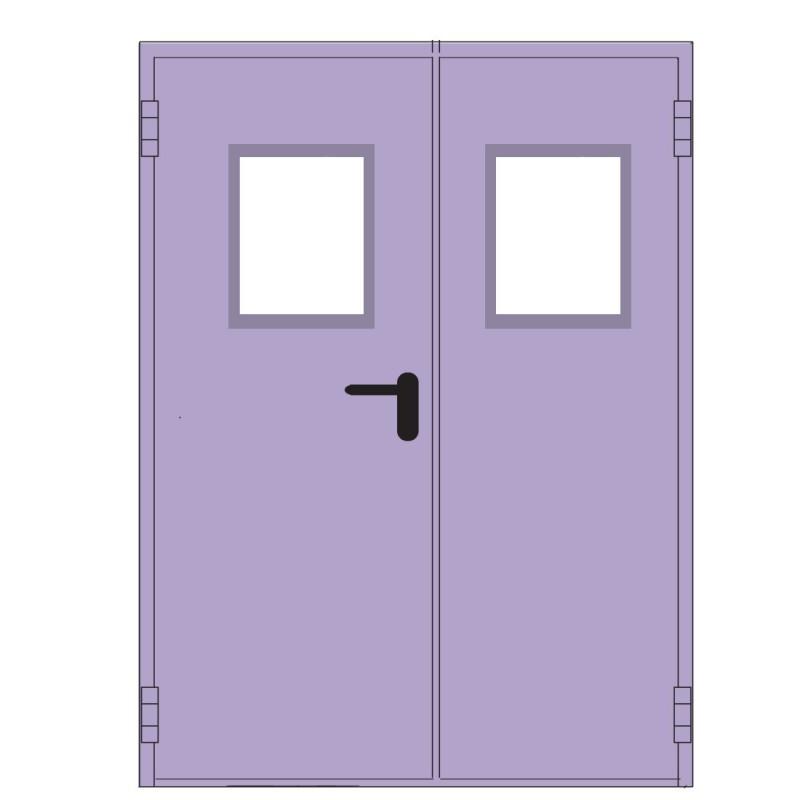 Porta tagliaf 1a oblo dx 90x215 verde oblo 300x400 rei 120 for Porte rei 60 prezzo