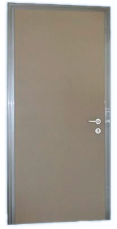 Porta blindata 90x210 cl3 silver c alias - De Rosa Srl