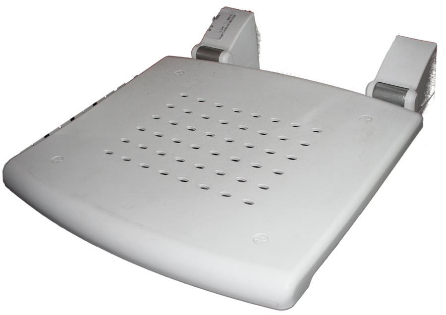 Sgabello da bagno h bianco k design portata max kg de