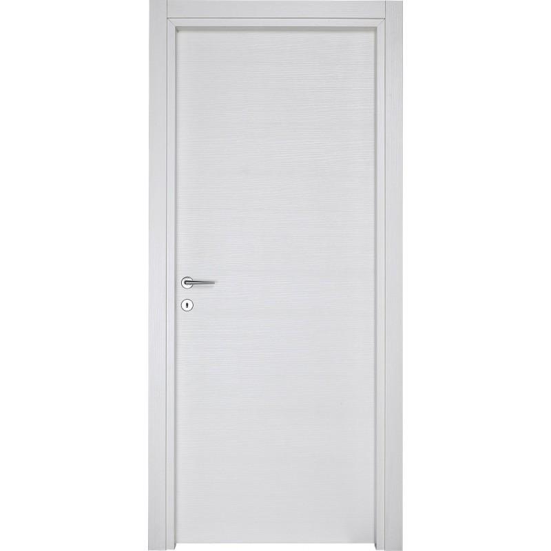 Porta blindata 90x210 cl3 mogano medio compl - De Rosa Srl