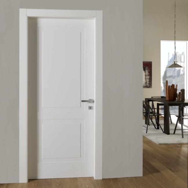 Porta venezia lp8 pantominima laccata bianca opaco for Porte blindate alias modello steel