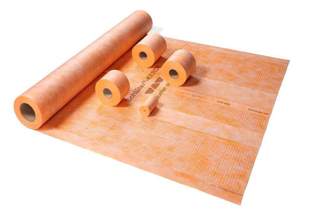 Kit impermeabilizzazione doccia 120x120 per doccia filo pavimento - De Rosa Srl