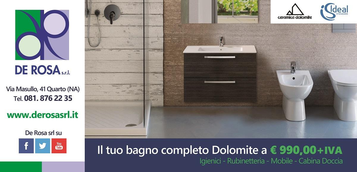 Il tuo bagno completo Dolomite: grande offerta De Rosa! - De Rosa ...