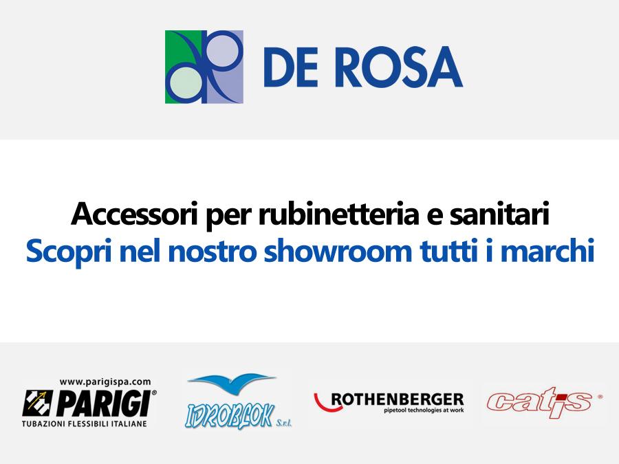 Rubinetterie Ed Accessori Napoli.I Nostri Accessori Per Rubinetteria E Sanitari De Rosa Edilizia A