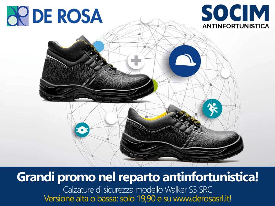 Scarpe da lavoro ed antinfortunistiche Walker - De Rosa Edilizia a ... 489e127c8a4