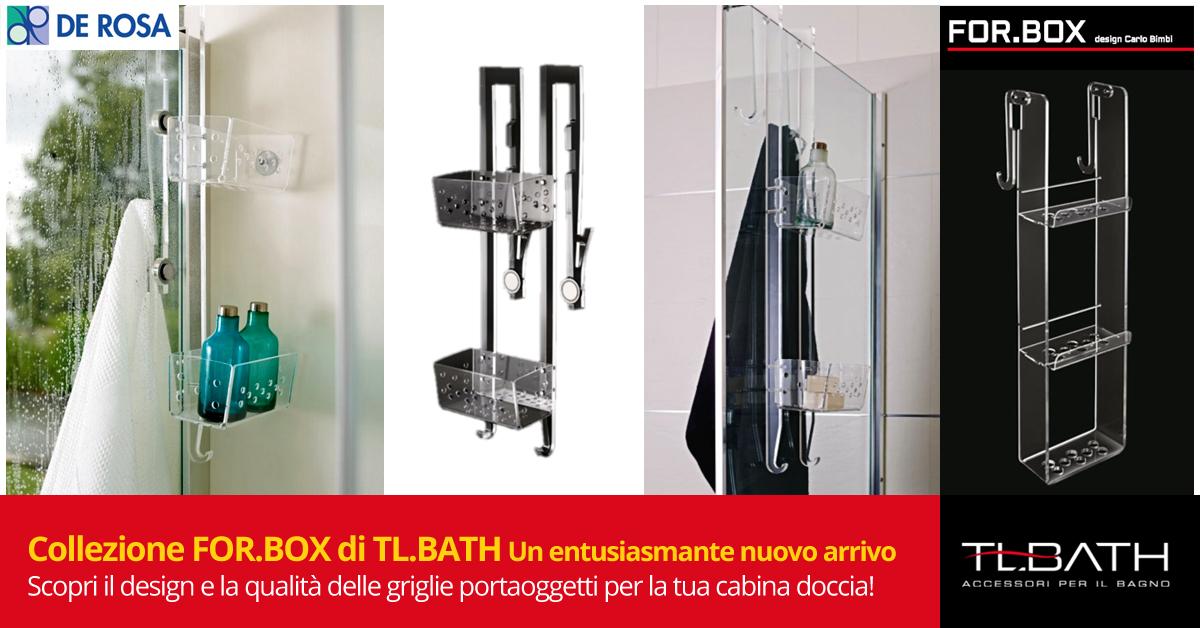 Griglie per box doccia tl bath design e qualità de rosa