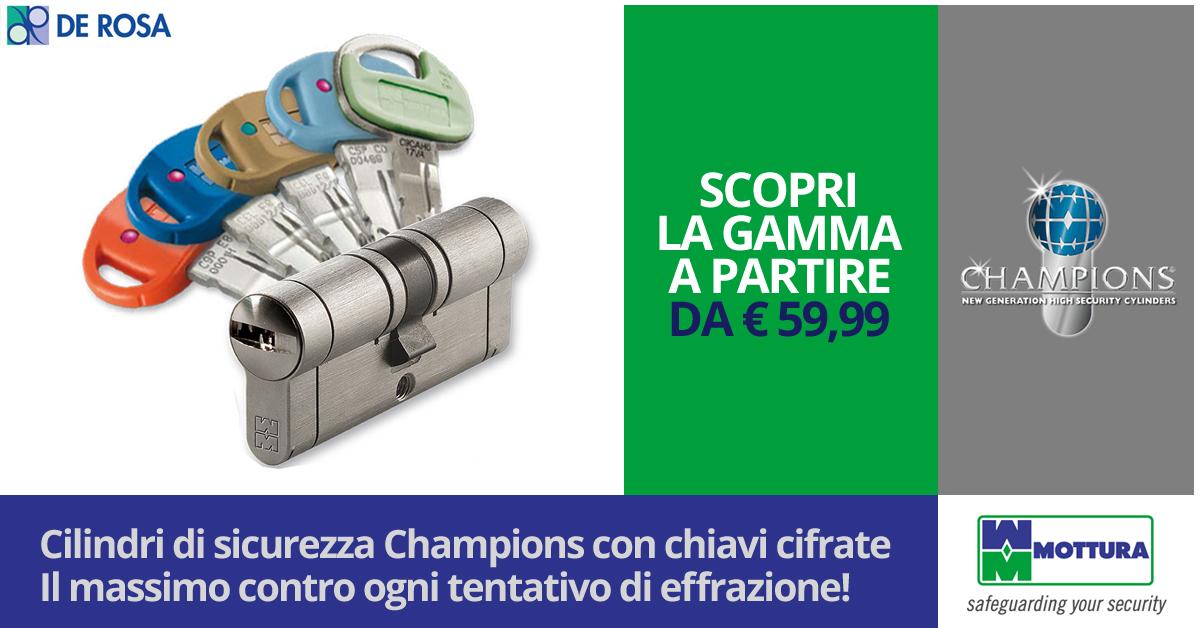 Gamma Cilindri Mottura Champions Top Della Sicurezza De Rosa