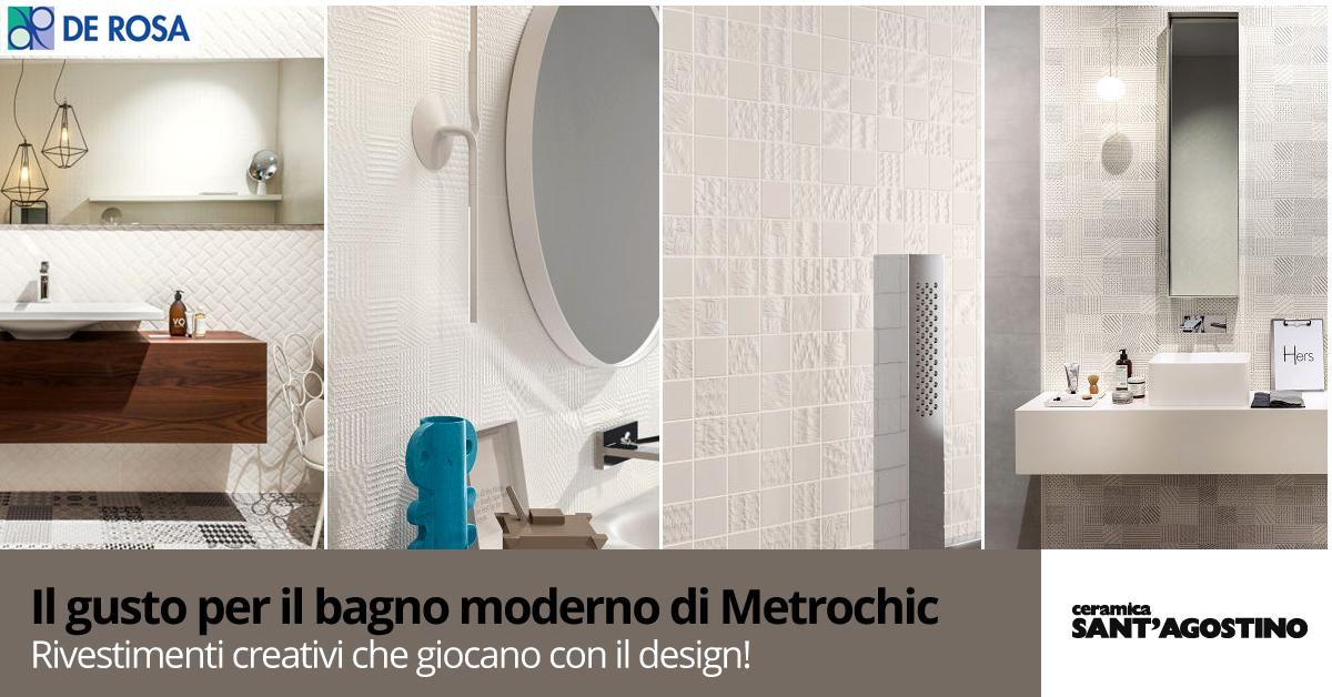 Rivestimenti Metrochic di Ceramica Sant\'Agostino - De Rosa Edilizia ...