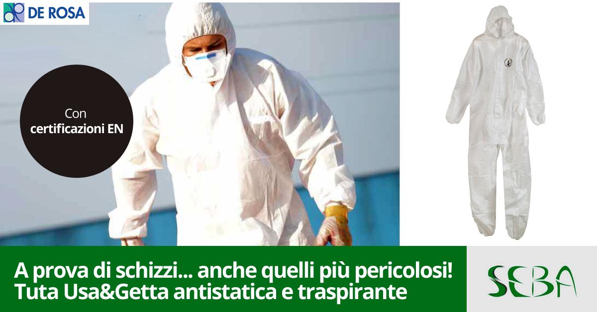 Come proteggere il corpo da materiali pericolosi de for Seba arredo bagno