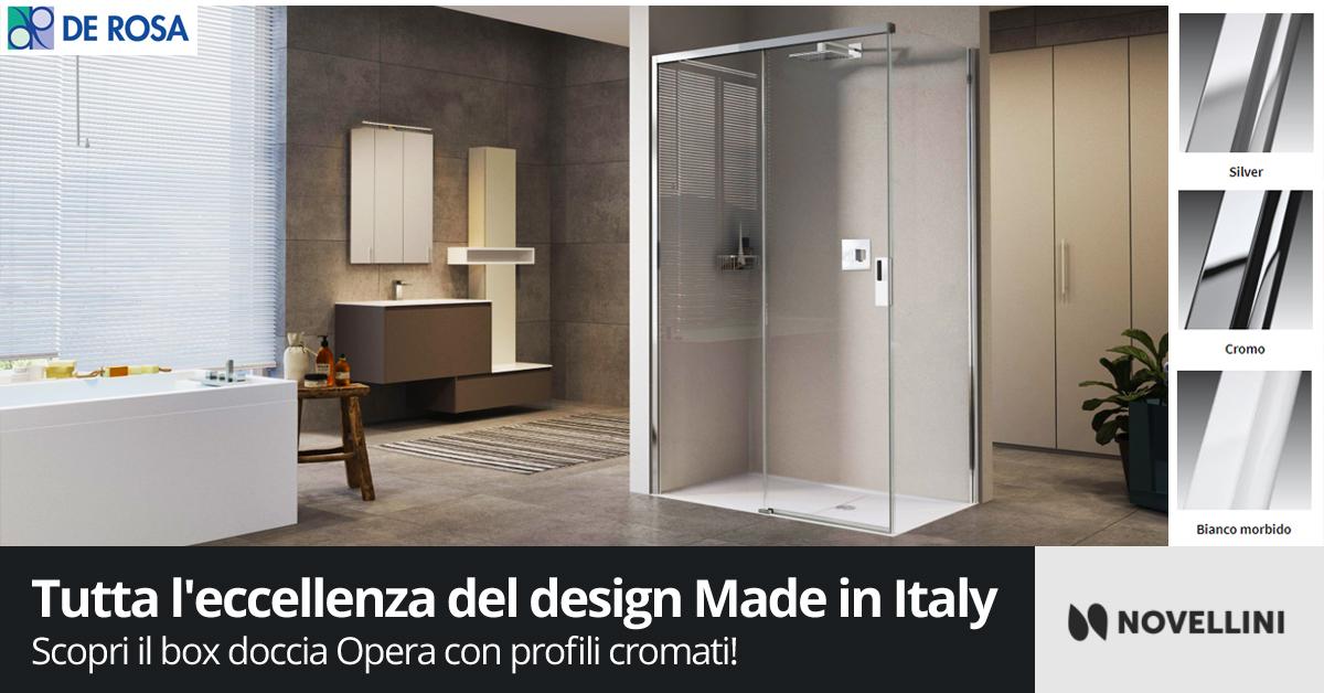 Box doccia Opera di Novellini - De Rosa Edilizia a Napoli e provincia