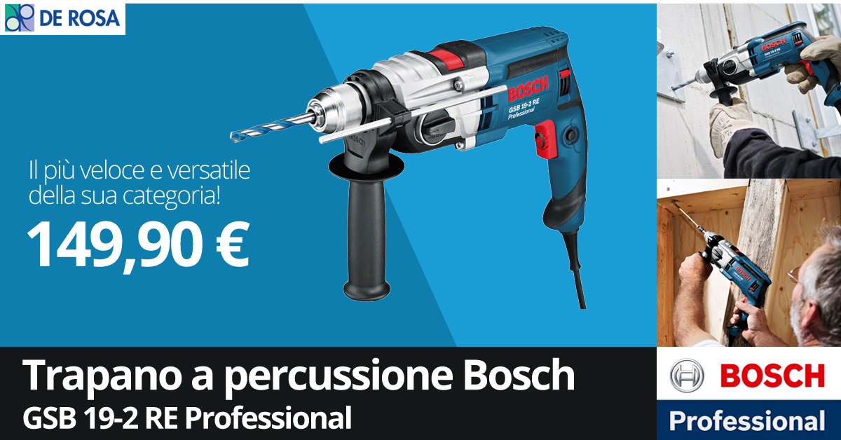 Trapano Bosch GSB 19-2 RE Professional