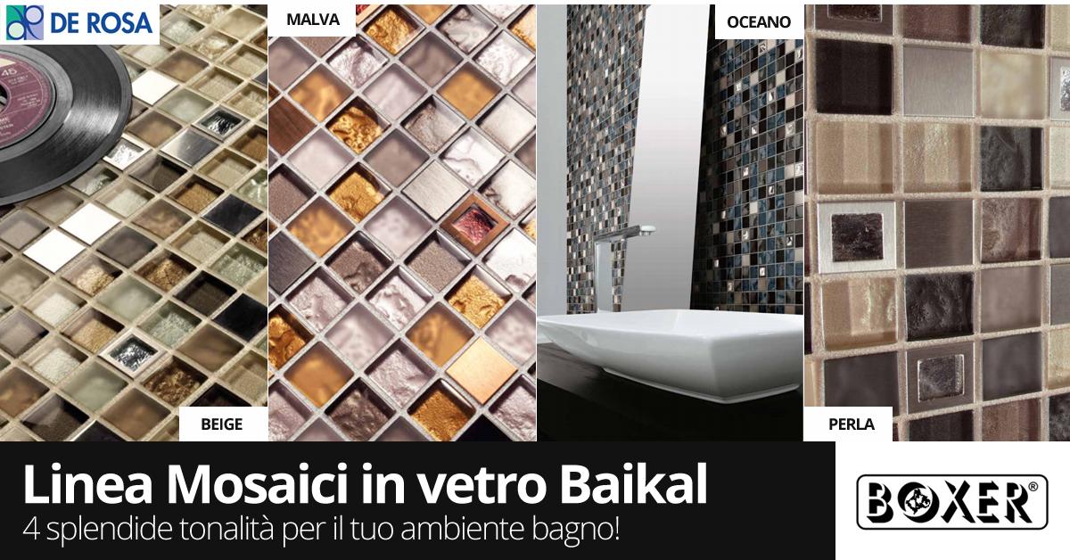 Piastrelle in vetro per bagno paraschizzi cucina mosaico