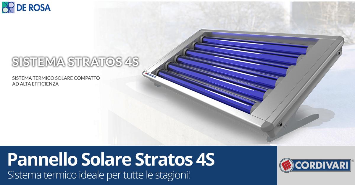 Pannello solare Stratos 4S Cordivari | De Rosa Srl - De Rosa ...