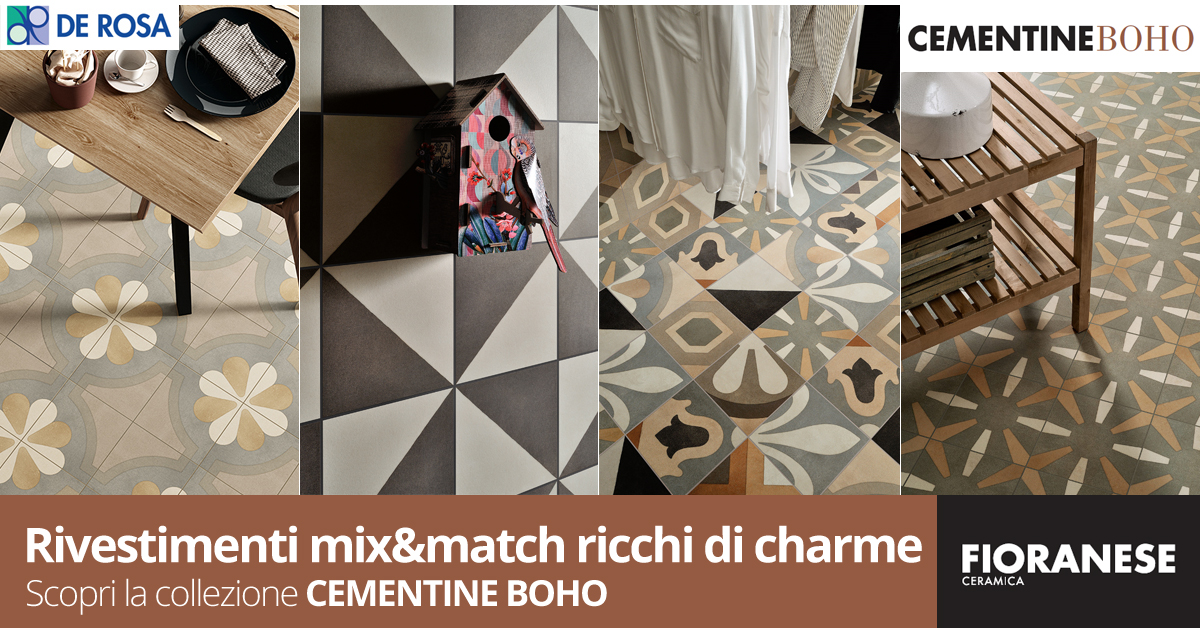 Cementine di ceramica fioranese u c pavimenti e rivestimenti