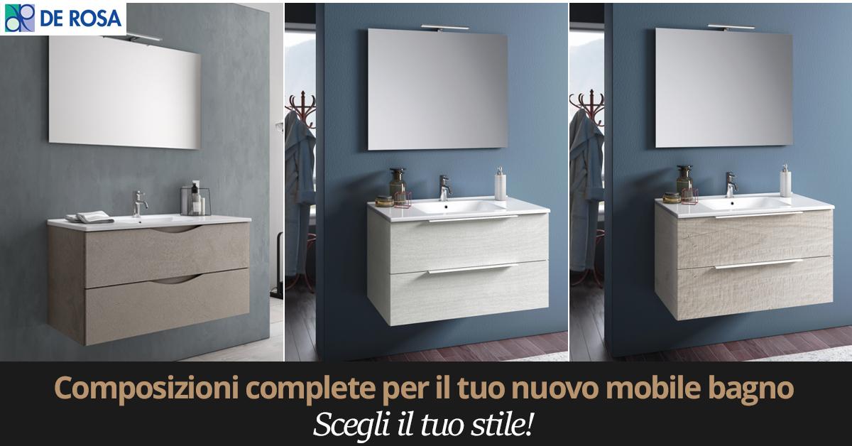 Mobili Da Bagno Napoli.Nuove Composizioni Mobili Bagno Design E Qualita De Rosa Srl